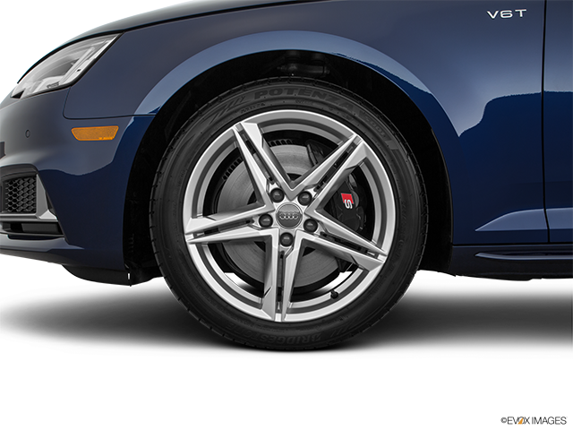 2018 Audi S4 Front Drivers side wheel at profile