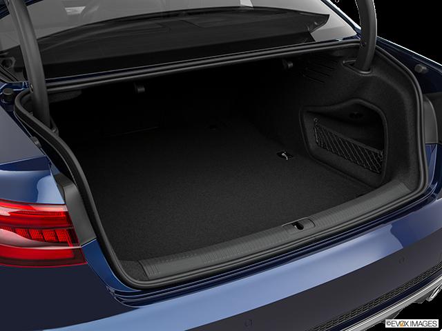 2018 Audi S4 Trunk open