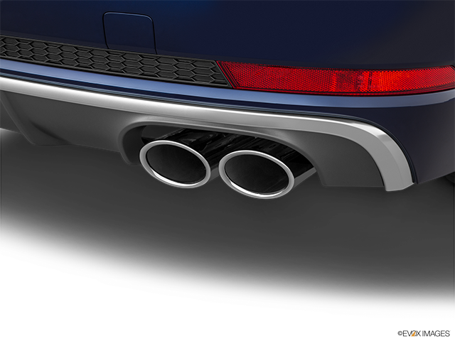 2018 Audi S4 Chrome tip exhaust pipe