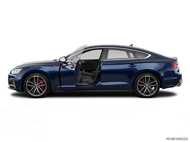 2018 Audi S5 Sportback Driver's side profile with drivers side door open