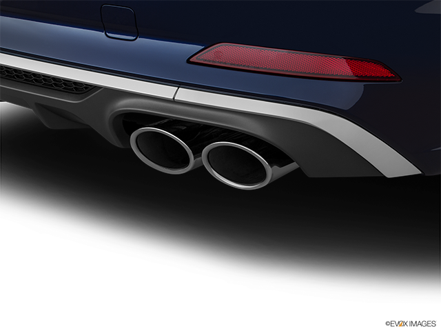 2018 Audi S5 Sportback Chrome tip exhaust pipe