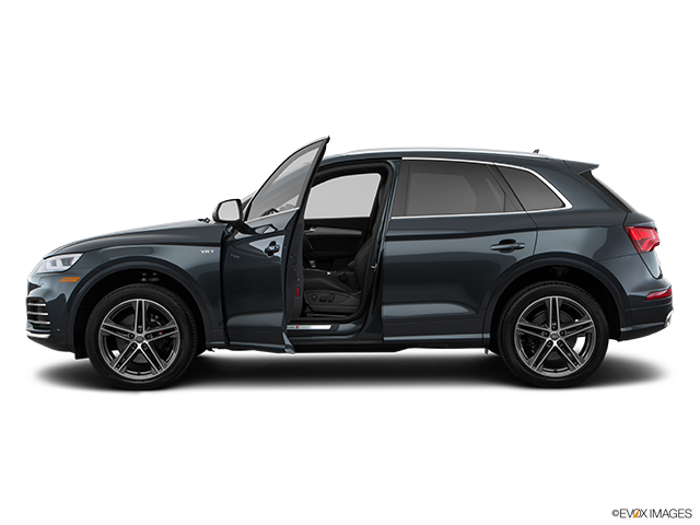 2018 Audi SQ5 Driver's side profile with drivers side door open