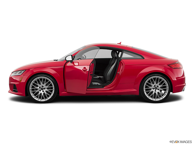 2018 Audi TTS Driver's side profile with drivers side door open