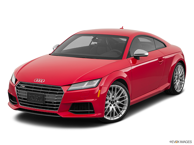 2018 Audi TTS Front angle view