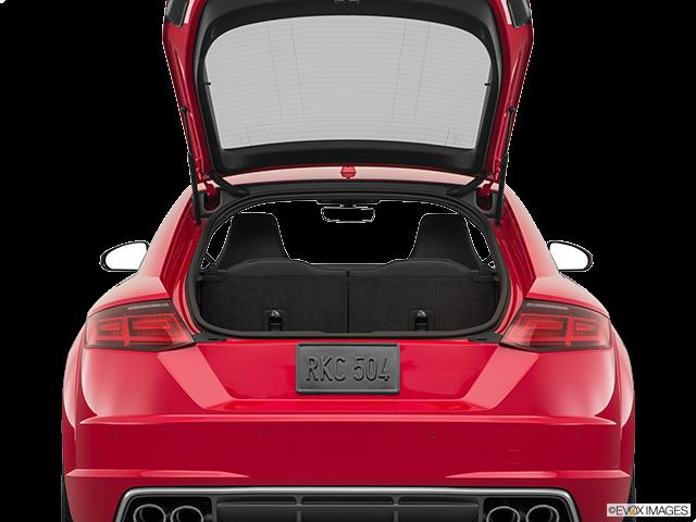 2018 Audi TTS Trunk open