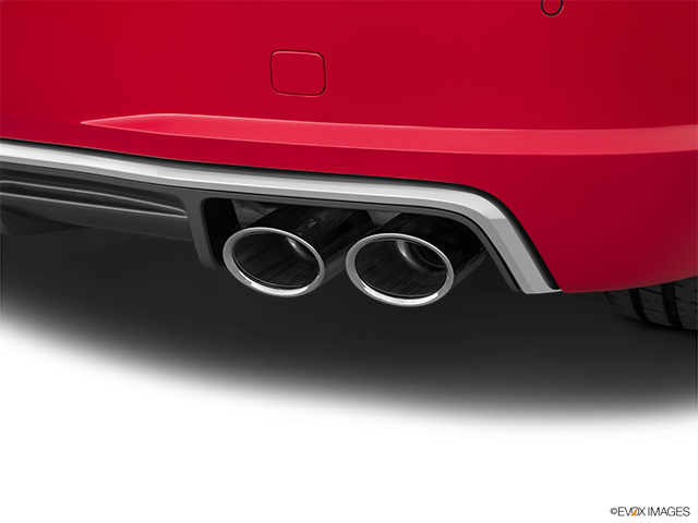 2018 Audi TTS Chrome tip exhaust pipe