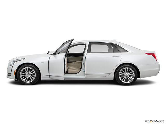 2018 Cadillac CT6 Driver's side profile with drivers side door open