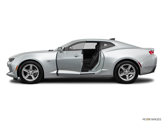 2018 Chevrolet Camaro Driver's side profile with drivers side door open