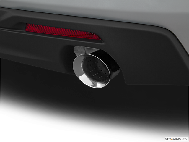2018 Chevrolet Camaro Chrome tip exhaust pipe