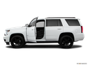 2018 Chevrolet Tahoe Driver's side profile with drivers side door open