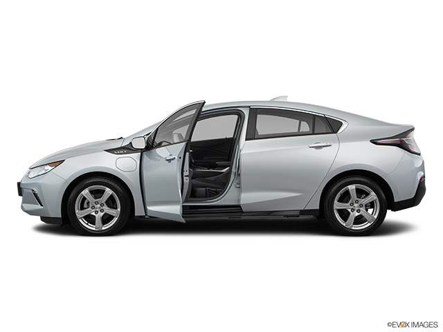 2018 Chevrolet Volt Driver's side profile with drivers side door open