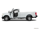2018 Ford F-250 Super Duty Driver's side profile with drivers side door open