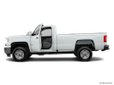 2018 GMC Sierra 2500HD Driver's side profile with drivers side door open