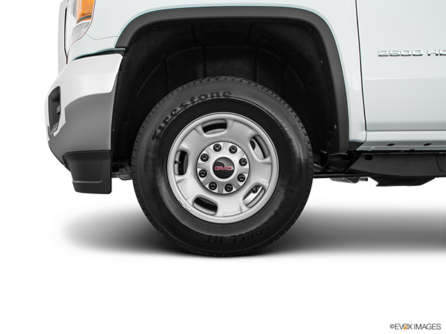2018 GMC Sierra 2500HD Front Drivers side wheel at profile