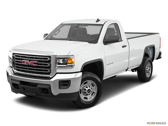 2018 GMC Sierra 2500HD Front angle view