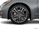 2018 INFINITI Q70 Front Drivers side wheel at profile