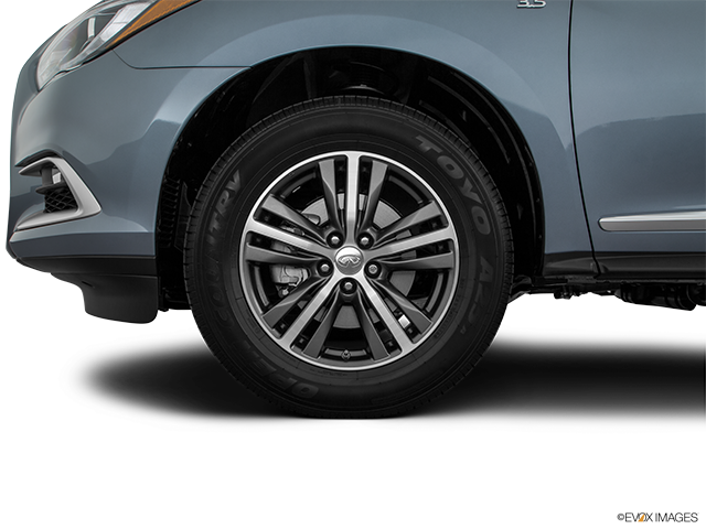 2018 INFINITI QX60 Front Drivers side wheel at profile