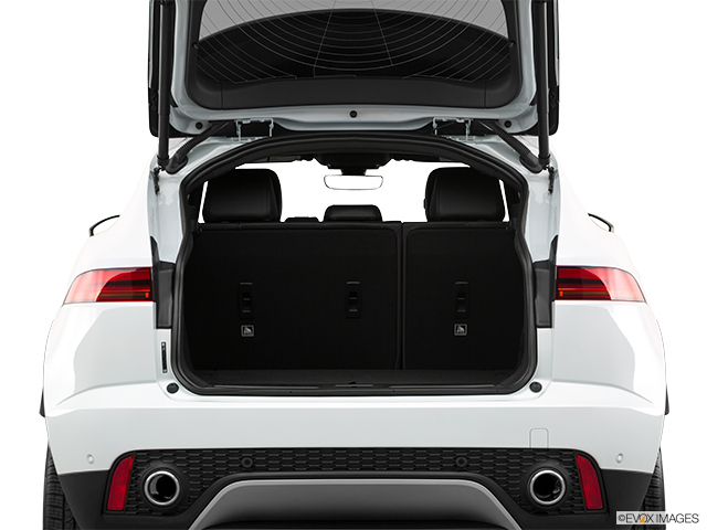 2018 Jaguar E-PACE Trunk open