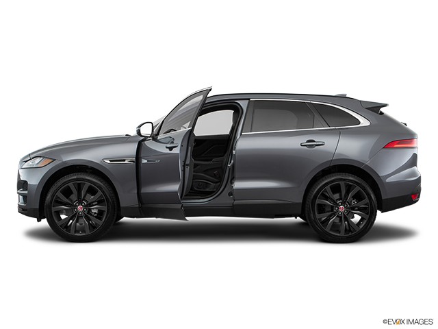 2018 Jaguar F-PACE Driver's side profile with drivers side door open