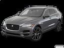 2018 Jaguar F-PACE Front angle view