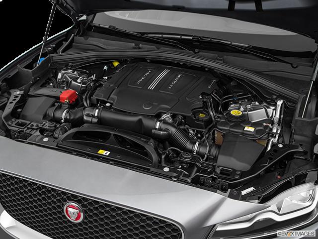 2018 Jaguar F-PACE Engine