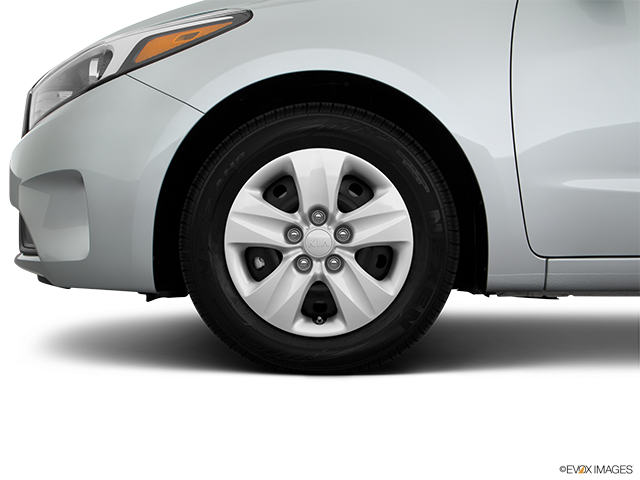 2018 Kia Forte Front Drivers side wheel at profile