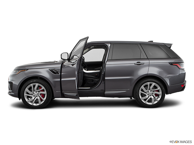 2018 Land Rover Range Rover Sport Driver's side profile with drivers side door open