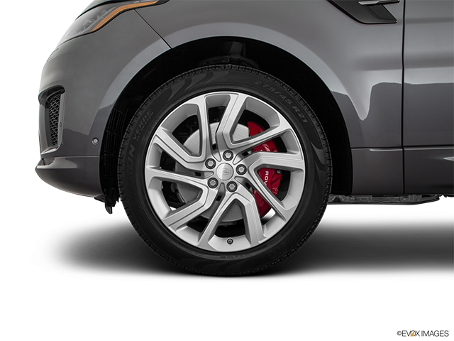 2018 Land Rover Range Rover Sport Front Drivers side wheel at profile
