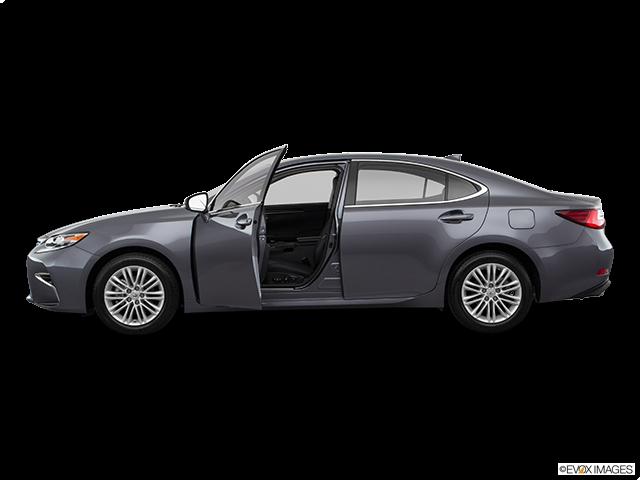 2018 Lexus ES 350 Driver's side profile with drivers side door open