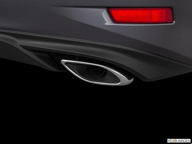 2018 Lexus ES 350 Chrome tip exhaust pipe