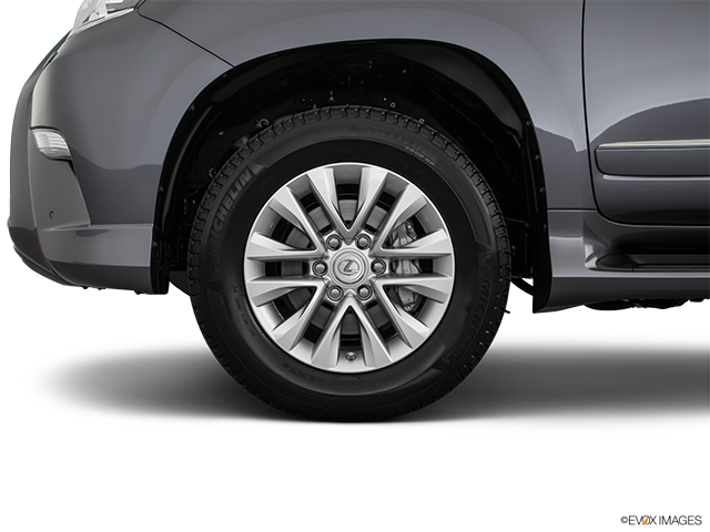 2018 Lexus GX 460 Front Drivers side wheel at profile
