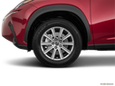 2018 Lexus NX 300 Front Drivers side wheel at profile