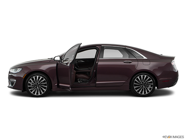 2018 Lincoln MKZ Driver's side profile with drivers side door open