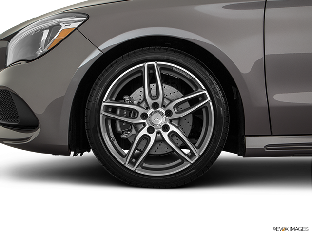 2018 Mercedes-Benz CLA Front Drivers side wheel at profile