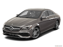 2018 Mercedes-Benz CLA Front angle view