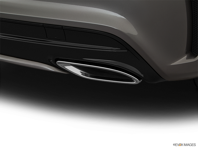 2018 Mercedes-Benz CLA Chrome tip exhaust pipe