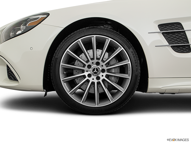 2018 Mercedes-Benz SL-Class Front Drivers side wheel at profile
