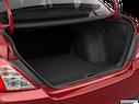 2018 Nissan Versa Trunk open