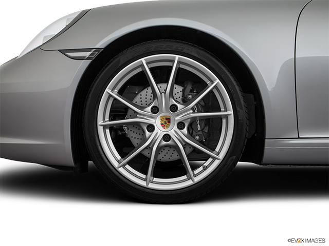 2018 Porsche 911 Front Drivers side wheel at profile