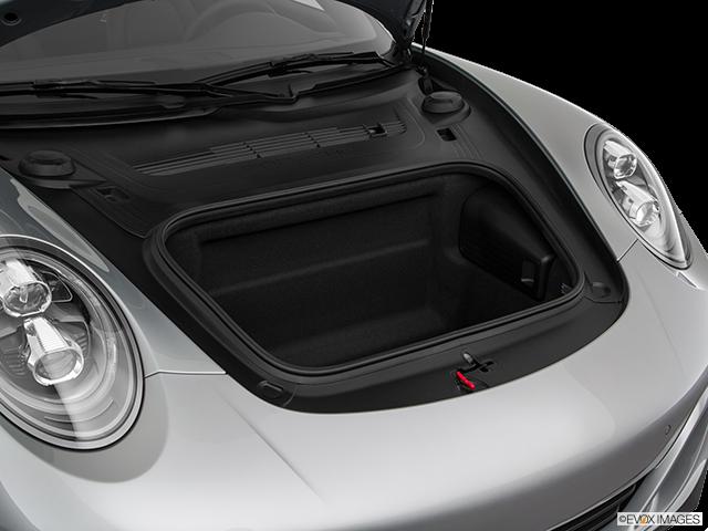 2018 Porsche 911 Trunk open