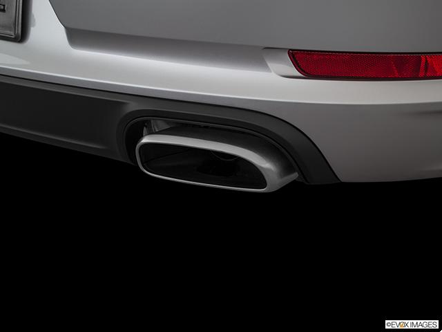 2018 Porsche 911 Chrome tip exhaust pipe