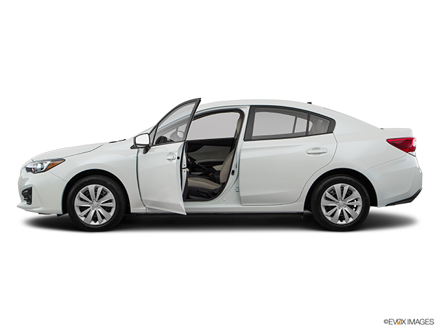 2018 Subaru Impreza Driver's side profile with drivers side door open