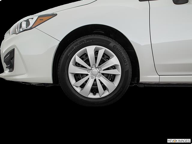 2018 Subaru Impreza Front Drivers side wheel at profile