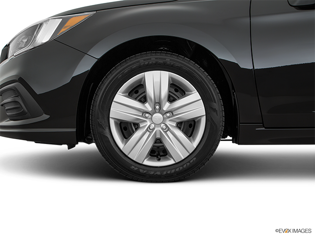 2018 Subaru Legacy Front Drivers side wheel at profile