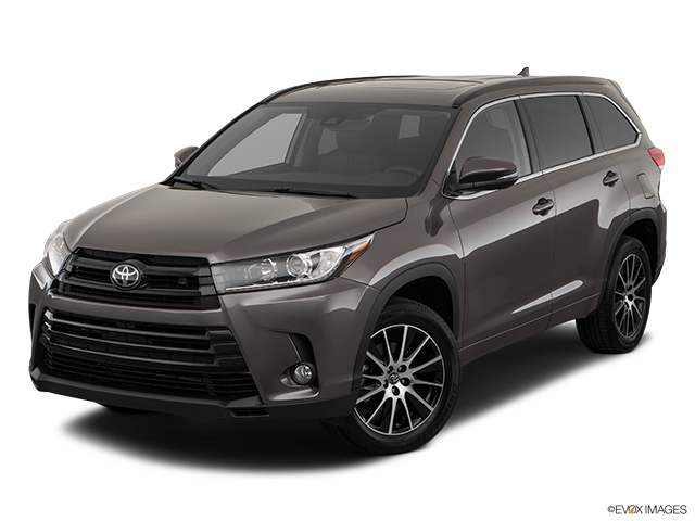 2018 Toyota Highlander Front angle view