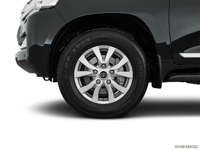 2018 Toyota Land Cruiser Front Drivers side wheel at profile
