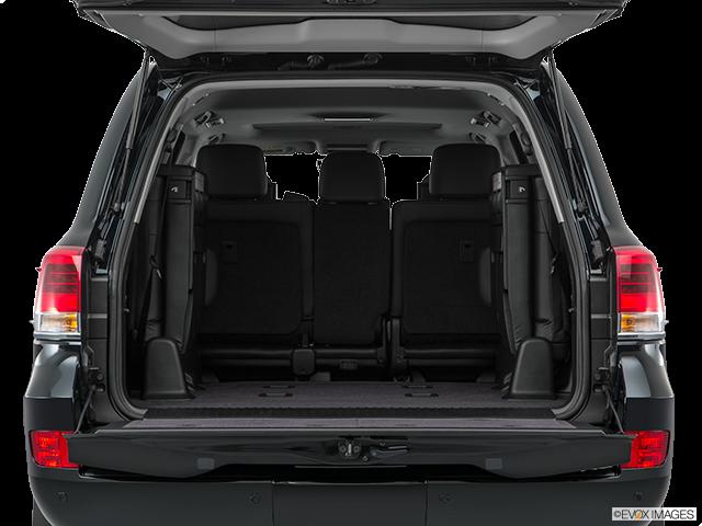 2018 Toyota Land Cruiser Trunk open