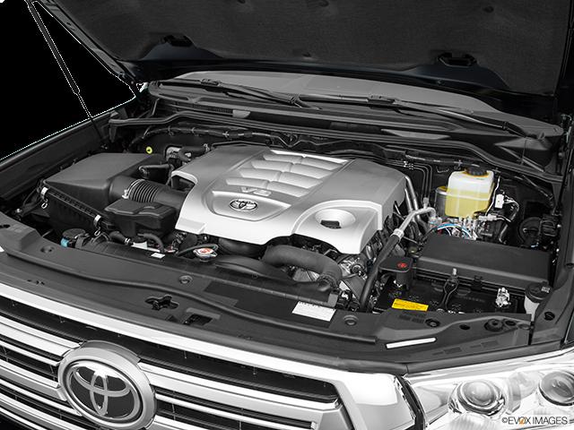2018 Toyota Land Cruiser Engine