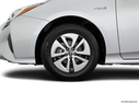 2018 Toyota Prius Front Drivers side wheel at profile
