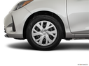 2018 Toyota Yaris Front Drivers side wheel at profile